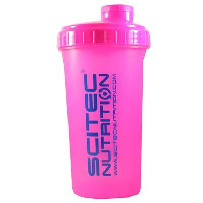 Scitec shaker pink 700ml fra scitec på fit4fight