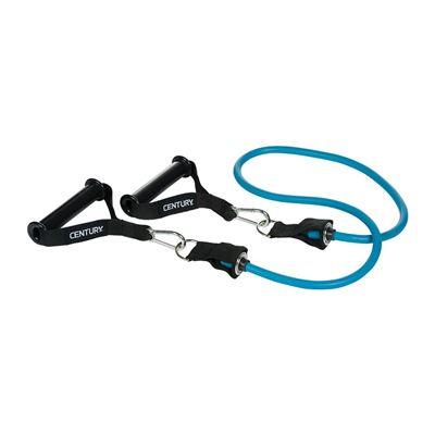 century Træningselastik med aftagelige håndtage blå fra fit4fight