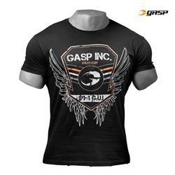 N/A Gasp rough print tee sort fra fit4fight