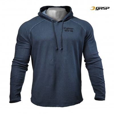 Gasp heritage hood petrol blue fra N/A fra fit4fight