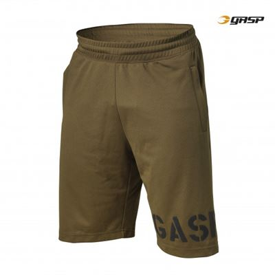 N/A Gasp essential mesh shorts - grøn på fit4fight