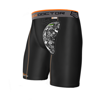 Shock Doctor Air Core Hard Cup Skridbeskytter med Shorts