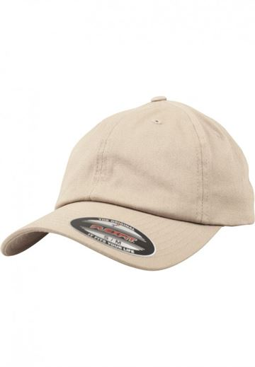 Flexfit Cotton Twill Dad Cap - Khaki