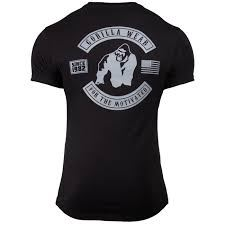 Detroit T-shirt fra Gorilla wear sort