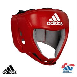 adidas Adidas aiba godkendt hjelm rød på fit4fight