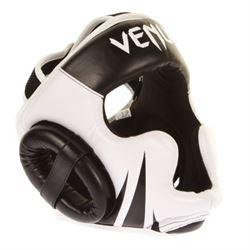 """N/A – Venum """"challenger"""" hjelm sort-hvid fra fit4fight"""