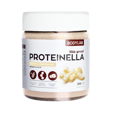 Bodylab proteinella  white chocolate 250 g fra N/A på fit4fight