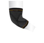 Shock Doctor Compression Knit Elbow Sleeve with Gel Support - Black