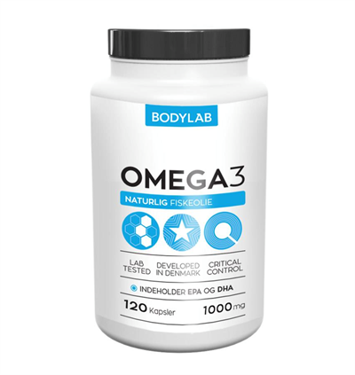 N/A – Bodylab omega 3 - 120 kapsler på fit4fight
