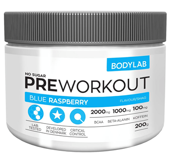 Bodylab Pre Workout Blue Rasberry 200 g