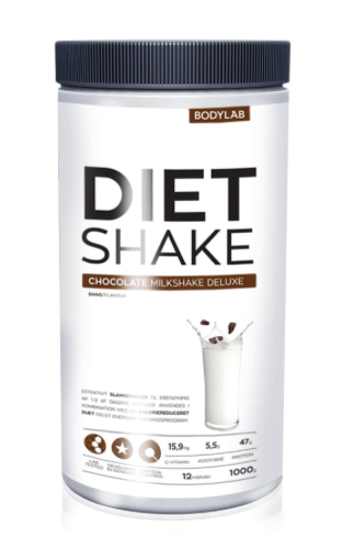 Bodylab Diet Shaker Chocolate 1000 g