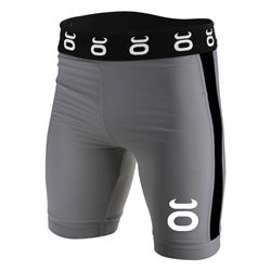 "N/A – Tenacity ""long"" vale tudo shorts grå/sort fra fit4fight"
