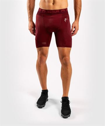 Venum G-Fit Kompression Shorts Bordeaux
