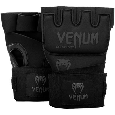Venum kontact gel handsker sort-sort fra venum på fit4fight