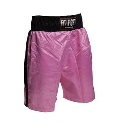 N/A – Fit4fight bokseshorts, pink på fit4fight