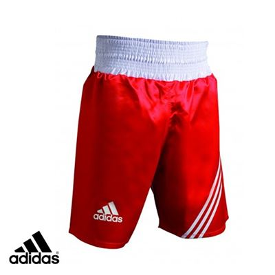 Adidas multi boxing shorts rød fra N/A på fit4fight