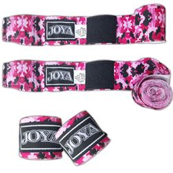 "N/A Joya ""velcro"" håndbind pink camo fra fit4fight"