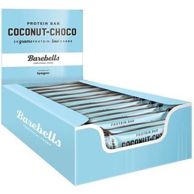 Billede af Barebells Protein Bar Kokos-chokolade 12 x 65