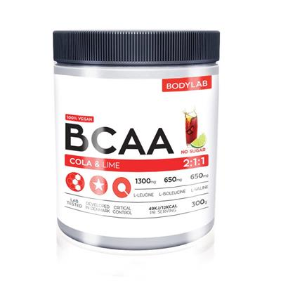 Image of   Bodylab BCAA Instant Cola Lime 300 g