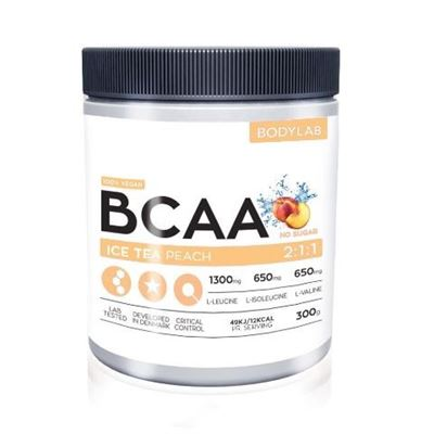 Image of   Bodylab BCAA Instant Ice Tea Peach 300 g