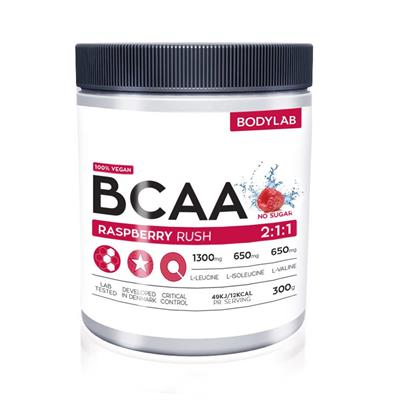 Image of   Bodylab BCAA Instant Raspberry Rush 300 g