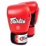 Fairtex BGV1 Tight Fit Sparringshandsker rød