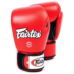 fairtex Fairtex bgv1 tight fit sparringshandsker rød fra fit4fight