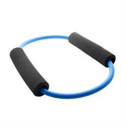 Trendy sport rund elastik med skum håndtage fra N/A på fit4fight