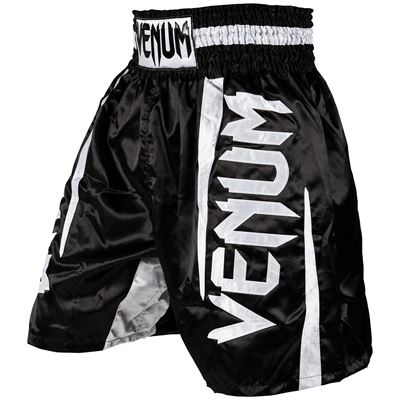 N/A – Venum elite boxing shorts - hvid/sort på fit4fight