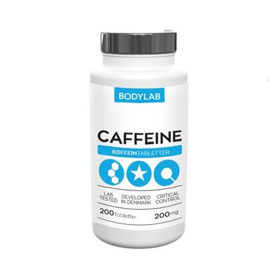N/A Bodylab caffeine 200 stk fra fit4fight