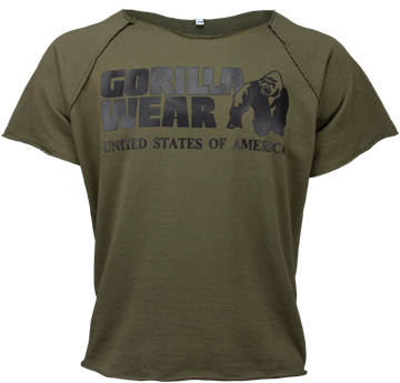 Classic Work Out Top fra Gorilla Wear Army grøn