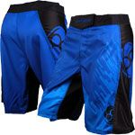 Clinch gear flex 2 amped shorts blå/sort fra clinch gear fra fit4fight