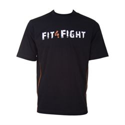 N/A Fit4fight logo t-shirt fra fit4fight