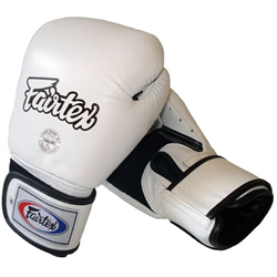 Fairtex bgv 1 tight fit sparringshandsker hvid fra N/A på fit4fight