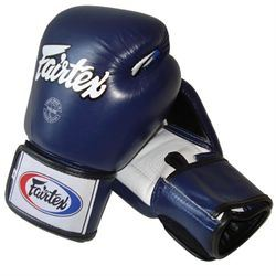 Fairtex bgv1 tight fit sparringshandsker blå fra N/A på fit4fight