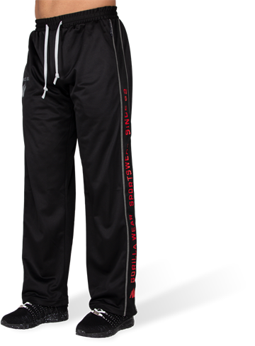 Functional Mesh Pants fra Gorilla Wear Sort/rød