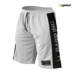 gasp – Gasp no1 mesh shorts hvid/sort fra fit4fight