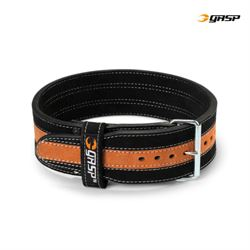 gasp – Gasp power belt sort/orange fra fit4fight