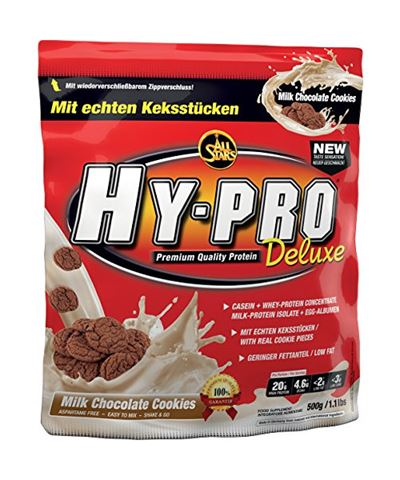 Billede af All Stars Hy-Pro Deluxe Casein + Whey Protein Mælkechokolade Cookies