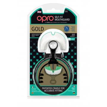 Opro Gold Generation 3 Pearl/Mint