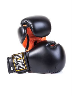 Billede af Fit4Fight Boksehandske, Sort/Orange
