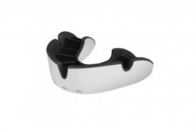 Opro Silver Generation 3 Tandbeskytter Hvid-sort