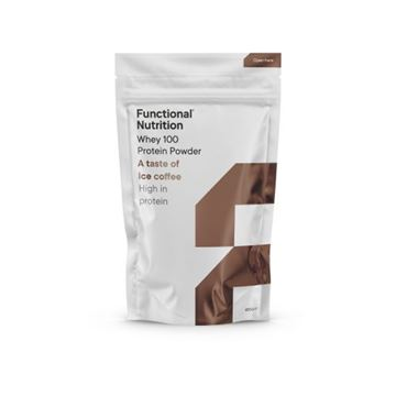 100 Whey Protein - 850g Ice Coffee fra Functional Nutrition