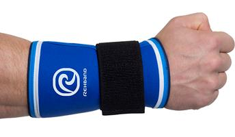 Rehband Wrist Support Blue Line