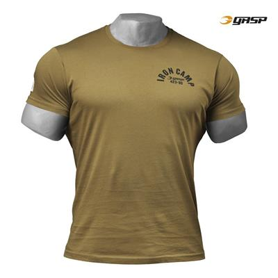 Gasp Throwback Tee, Military olive