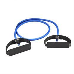 N/A – Trænings elastik blå med håndtag på fit4fight