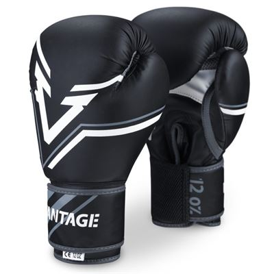 N/A – Vantage boxing gloves combat elastic sort fra fit4fight