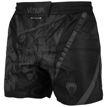 Venum Devil Fighters shorts i sort/sort