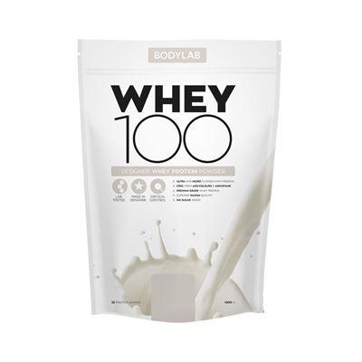 Proteinpulver Whey 100 1 kg fra Bodylab